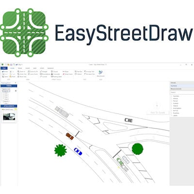 Planimetrías rápidas con Easy Street Draw®