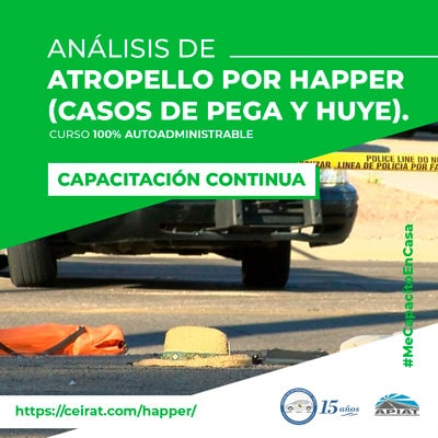Análisis de Atropello por Happer (Casos de atropello y fuga)