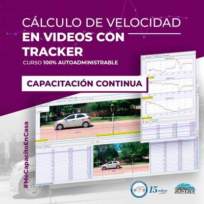 Cálculo de velocidad en vídeos con Tracker